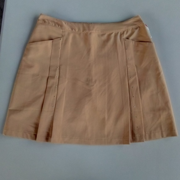Tail Pants - 🆕 Women's Tail Dramatic Skort Tan Studded Size 10